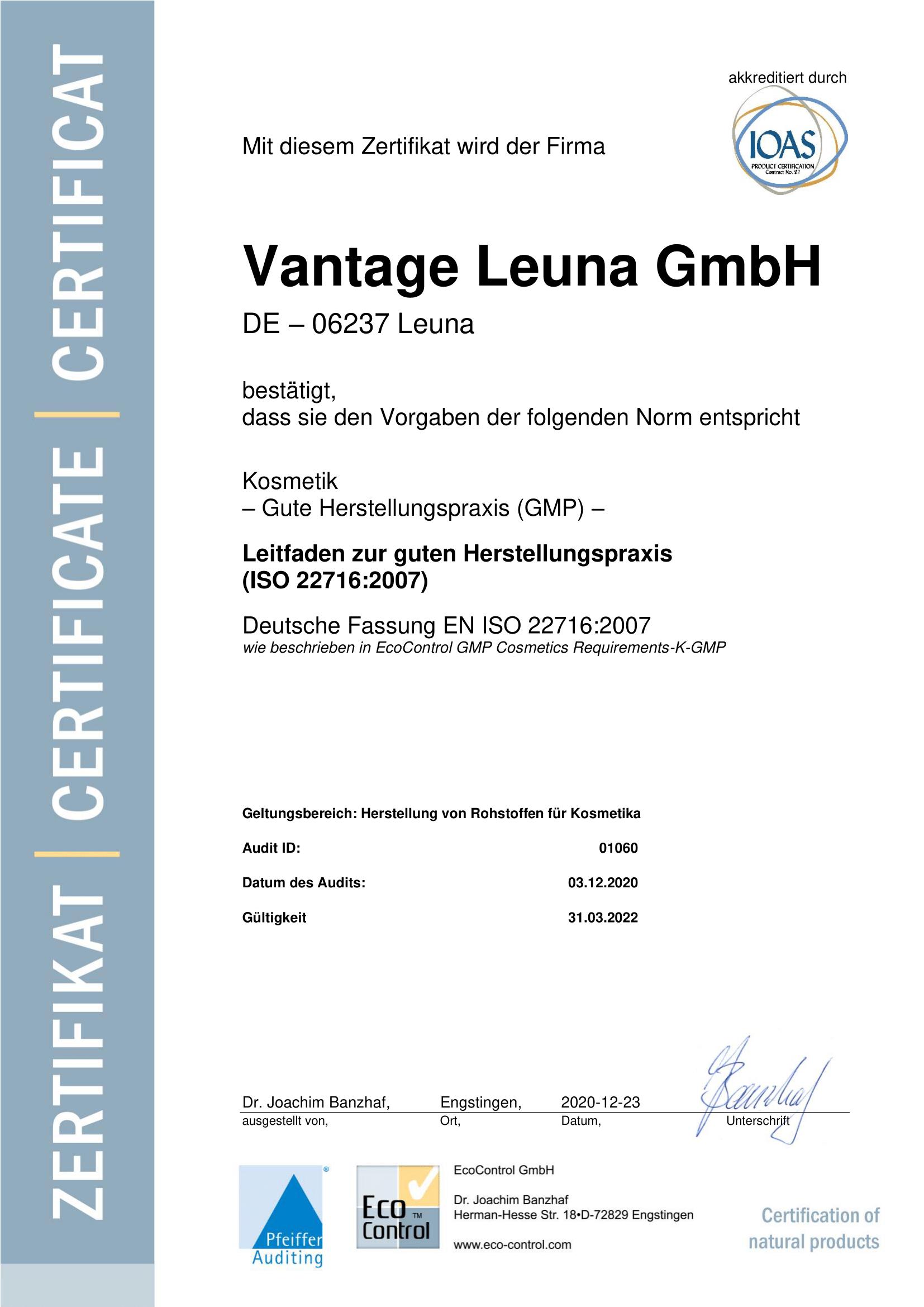 ISO-GMP-22716_Vantage Leun_de-1