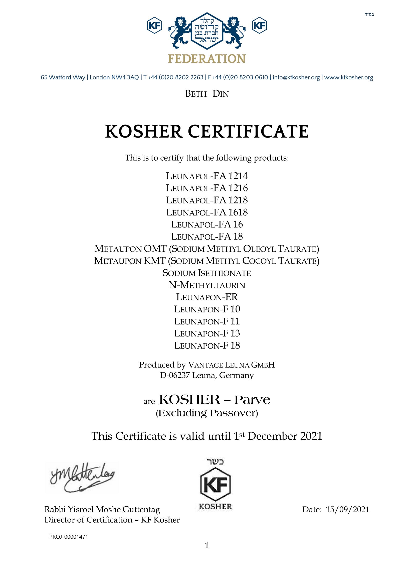 Certificate - Vantage Leuna temp till Dec 21-1
